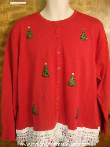 Tiny Xmas Trees Ugly Xmas Sweater