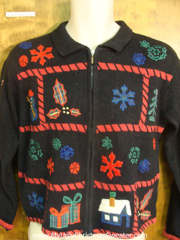 Awesome 2sided Ugly Xmas Sweater