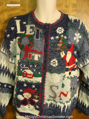 Let it Snow Ugly Xmas Sweater