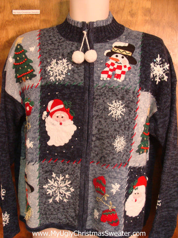 80s Santa and Friends Ugly Xmas Sweater
