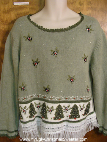 Christmas Greens Tacky Xmas Sweater