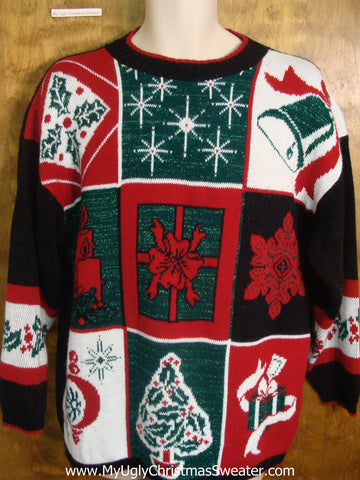 80s Decorations Tacky Xmas Sweater