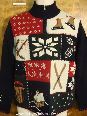 Winter Fun Tacky Xmas Sweater