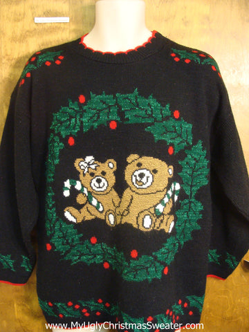Holiday Teddy Bears Christmas Sweater
