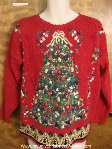 Horrible Christmas Tree Cute Christmas Sweater