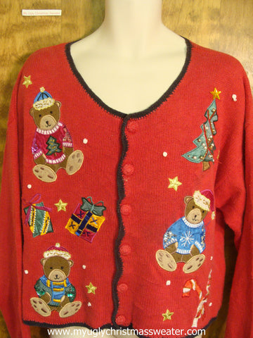 Christmas Teddy Bears Cute Christmas Sweater