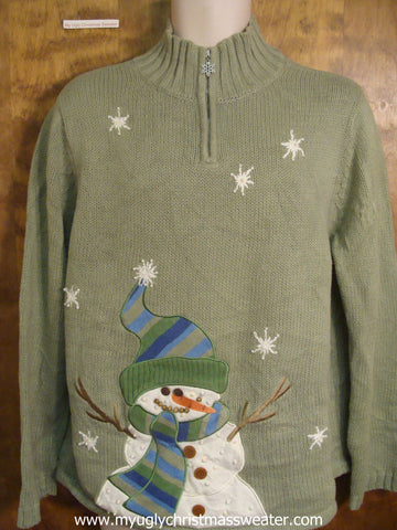 Green Cute Christmas Sweater