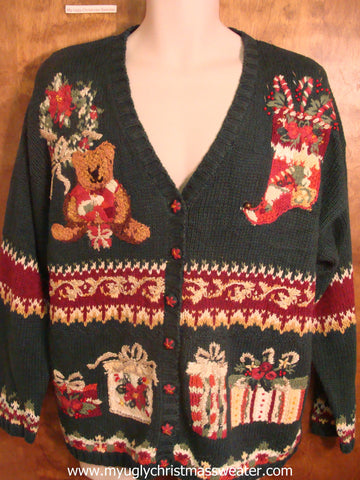 80s Tacky Xmas Decorations Christmas Party Sweater