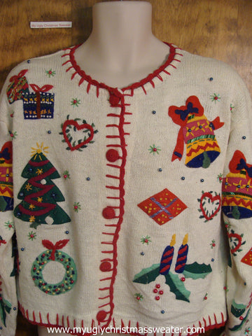 Holiday Essentials Christmas Party Sweater