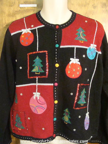 Bling Xmas Decorations Christmas Party Sweater