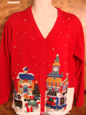 Christmas Village Christmas Party Sweater