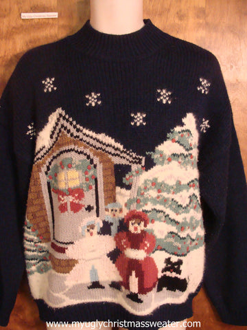 Carolers Ugly Christmas Sweater