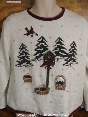 Christmas Birds Ugly Christmas Sweater