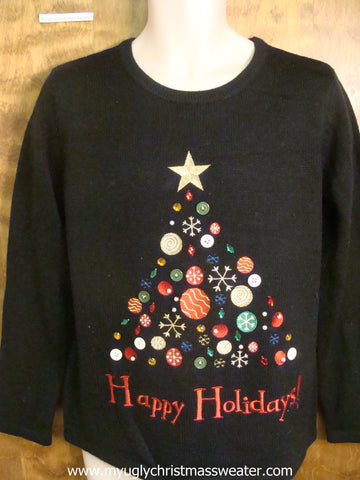 Ornaments Christmas Tree Ugly Christmas Sweater