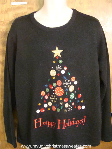 Happy Holidays Ugly Christmas Sweater