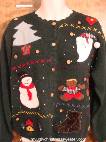 Favorite Holiday Characters Ugly Christmas Sweater