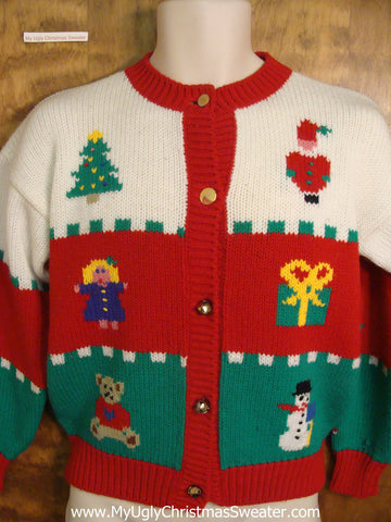 Christmas Toys Horrible Christmas Sweater
