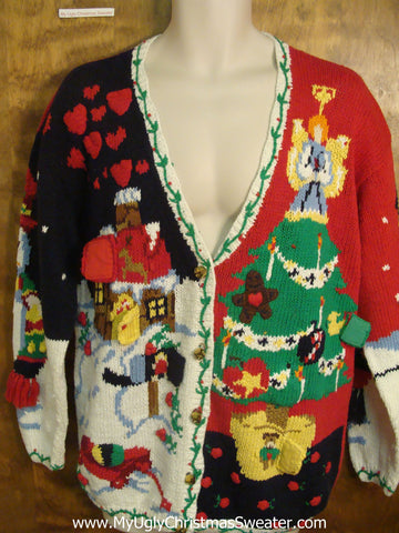 80s Christmas Eve Scene Best Christmas Sweater
