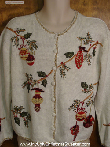 Christmas Boughs Horrible Christmas Sweater