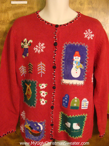 Merry Holiday Favorites Horrible Christmas Sweater