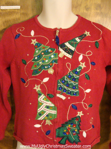 Tree Tacky Xmas Party Sweater