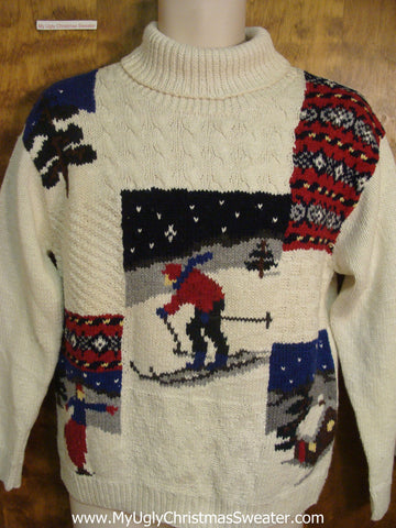 Vintage Outdoors Tacky Xmas Party Sweater