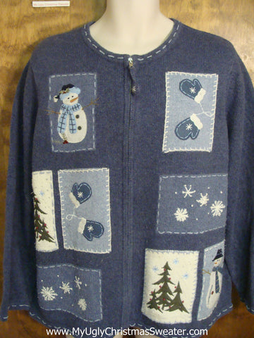Great Outdoors Fun Tacky Xmas Party Sweater