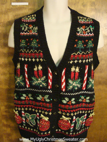 Holiday Decorations Christmas Sweater Vest