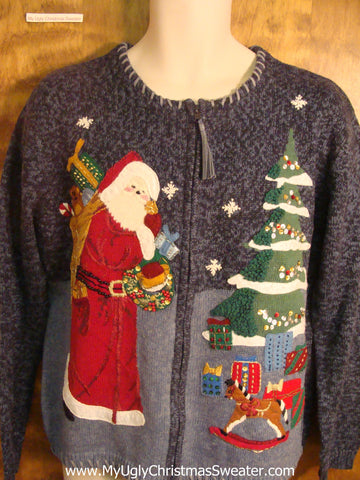 Saint Nicholas Cheesy Christmas Sweater