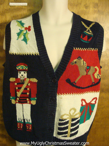 Presents Galore Bad Christmas Sweater Vest