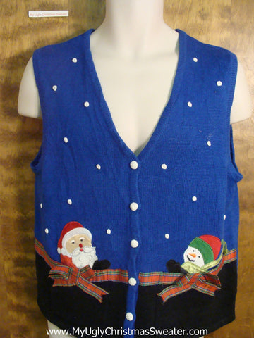 Winter Friends Funny Christmas Sweater Vest