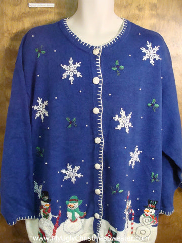 Snowman Party Funny Christmas Sweater