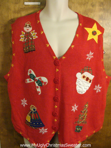 Holiday Favorites Funny Christmas Sweater Vest