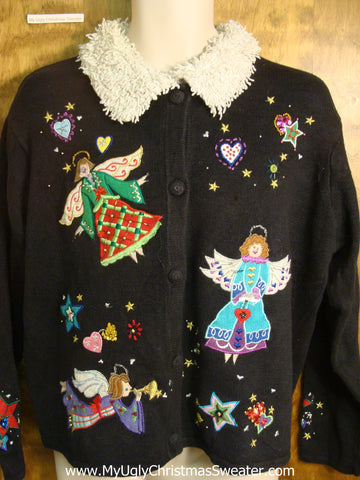 Christmas Angels Ugly Christmas Sweater