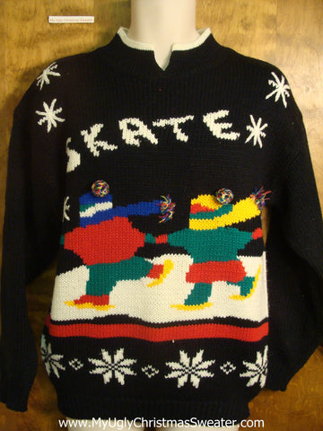 80s Skate Ugly Christmas Sweater