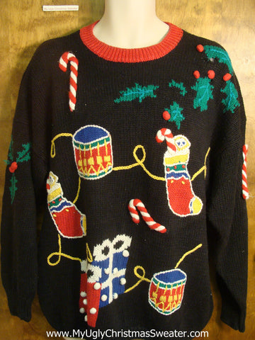 Presents Ugly Christmas Sweater