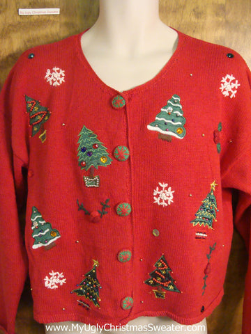 Christmas Trees Galore Ugly Christmas Sweater