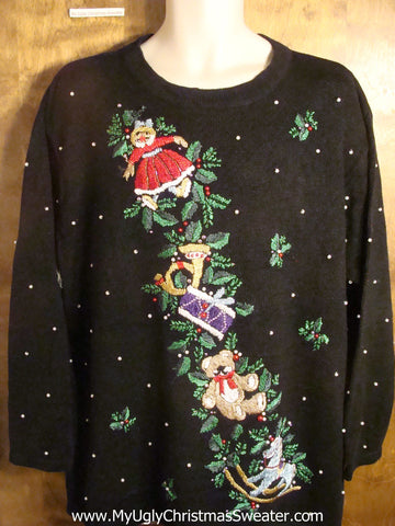 Holiday Decorations and Toys Tacky Christmas Sweater
