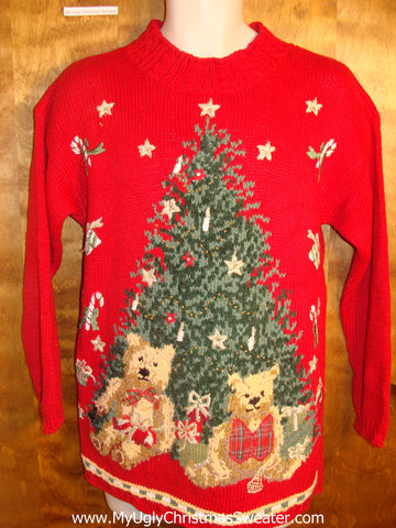 Teddy Bear Presents Tacky Christmas Sweater