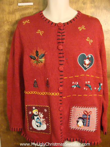 Holiday Favorites Fun Tacky Christmas Sweater