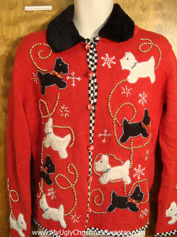 Scotty Dogs Christmas Sweater