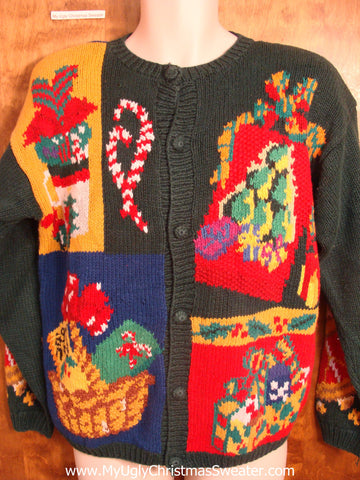 Best 80s 2sided Mess Christmas Sweater