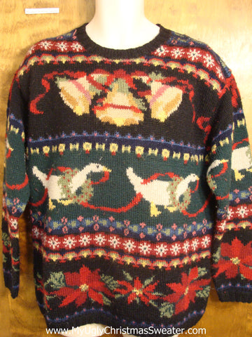 Ugliest Ever 80s Christmas Sweater