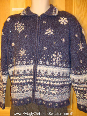Cheap Tacky Christmas Sweater Party Ugly Sweater Nordic Style on Front, Back, and Sleeves (f959)