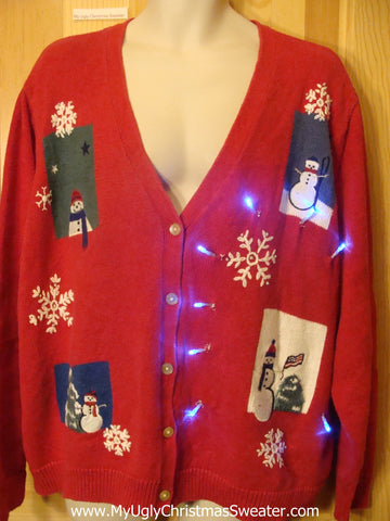 Need to Buy Christmas Sweaters? Light Up Sweater Ladies, Mens XXXL