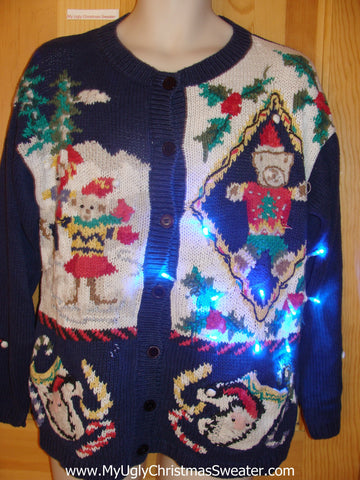 Need to Buy Christmas Sweaters? Horribly Tacky Light Up Sweater