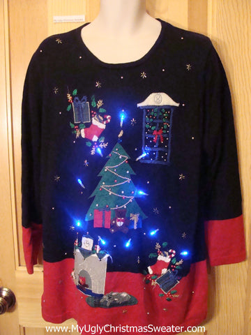 Need to Buy Christmas Sweaters? Horrible Dreamy Light Up Sweater