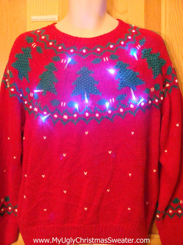 Need to Buy Christmas Sweaters? Nordic Two Sided Light Up Sweater