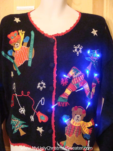 Need to Buy Christmas Sweaters? Light Up Sweater