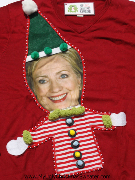 Clinton Christmas Sweater